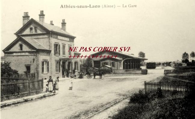 Cartes postales anciennes et photos athies sous laon for Bureau 02 laon