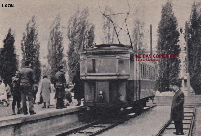 Le tramway laon